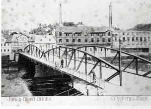 K-A-Brücke Beringer 1913 abgebrannt