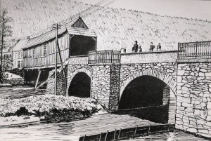 König Albert Brücke in der Reichenbacher Straße- Heuet Tomas- Müntzer Straße
