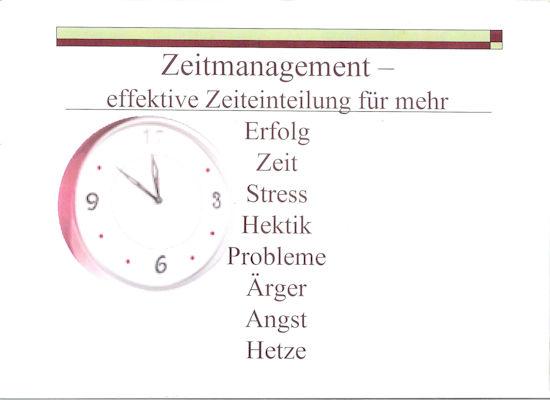 2 Zeitmanagment