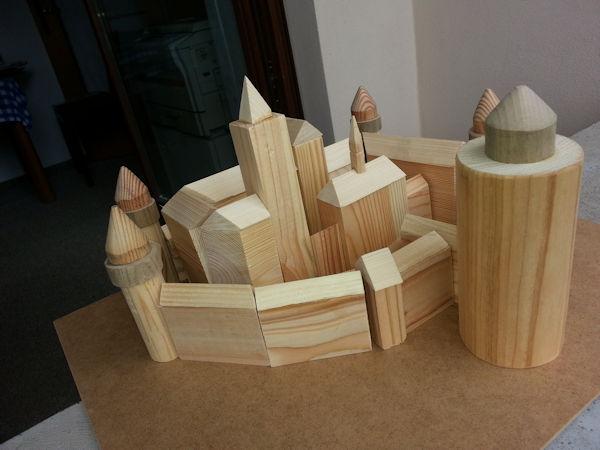 Holzmodel