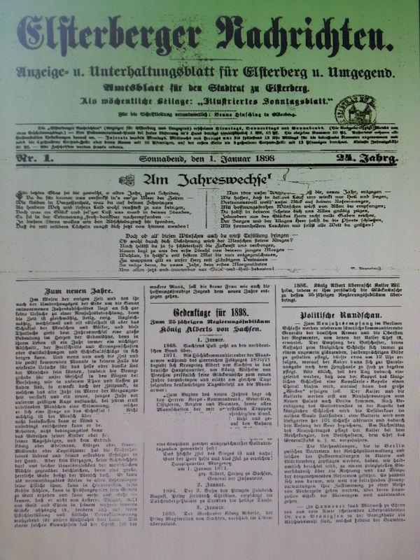 Erstausgabe 1898