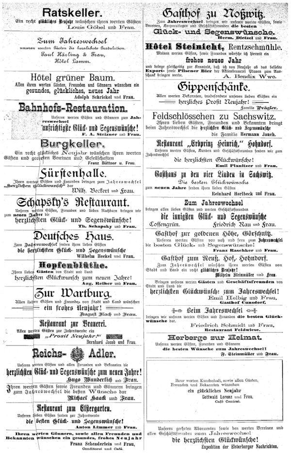 Werbung 1898
