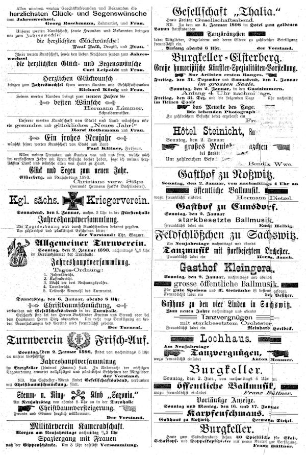 Werbung -1898